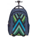 Рюкзак-трансформер на колесах Wave EASY GO BLUE TRIBE
