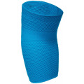 Налокотник эластичный трикотажный с силиконом HABIC, голубой интенсив, размер 3
