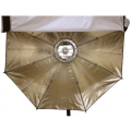 Октобокс золотистый Aurora Lite Bank Firefly2 Silver-Gold для накамерной вспышки 50 см