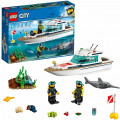 Конструктор LEGO City Great Vehicles Яхта для дайвинга