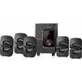 Акустическая 5.1 система Cinema 52 52Вт, BT/FM/MP3/SD/USB/LED/RC