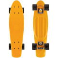 "Y-Scoo Fishskateboard 22"" - скейтборд с сумкой Orange-black"