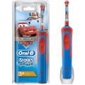 Зубная щетка электрическая Oral-B Stages Power Cars красный/синий