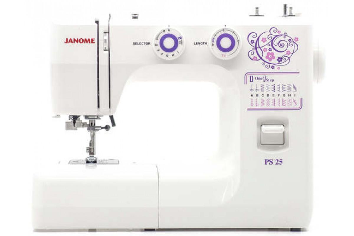 Швейная машина Janome PS-25 белый