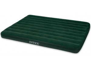 Intex Кровать Prestige Downy Queen, флок с насосом 66969