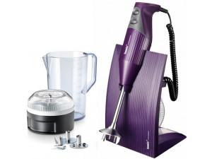 Блендер Bamix M200 SwissLine фиолетовый