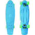 "Y-Scoo Fishskateboard 22"" - скейтборд с сумкой Blue-Green"