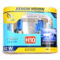 Лампа галогеновая Clearlight H10 XenonVision 2 шт, DUOBOX