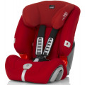Детское автокресло Britax Roemer Evolva 123 Plus Flame Red Trendline
