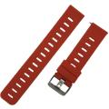 Ремешок силиконовый 20мм для Amazfit GTR42мм/ GTS/ Bip/ Bip Lite, красный