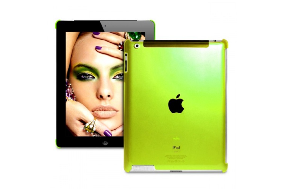 Чехол Puro Crystal Cover Fluorescent New iPad пластик
