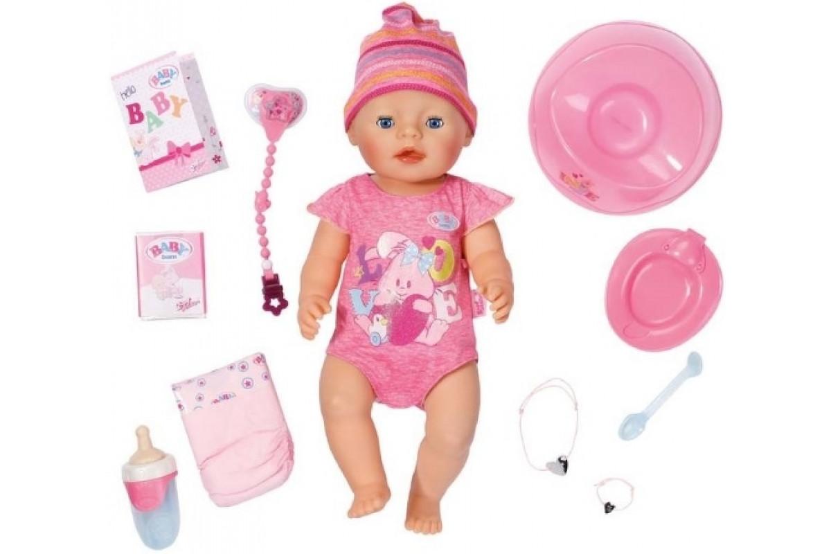 Zapf Creation Baby born Кукла Интерактивная, 43 см