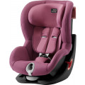 Детское автокресло Britax Roemer King II Black Series Wine Rose Trendline