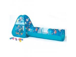 Ching-Ching CBH-03 детская игровая палатка с шариками океан треугольник с туннелем