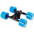 Многофункциональный йога-тренажер Workout Back Training Tool для занятий спортом, черный+синий