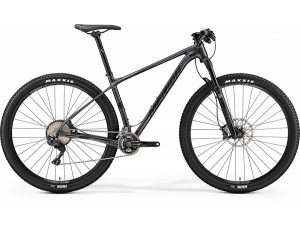 "Велосипед Merida Big Nine 700 Dark Silver (Matt Black) 2019 XL(21"")(72392)"