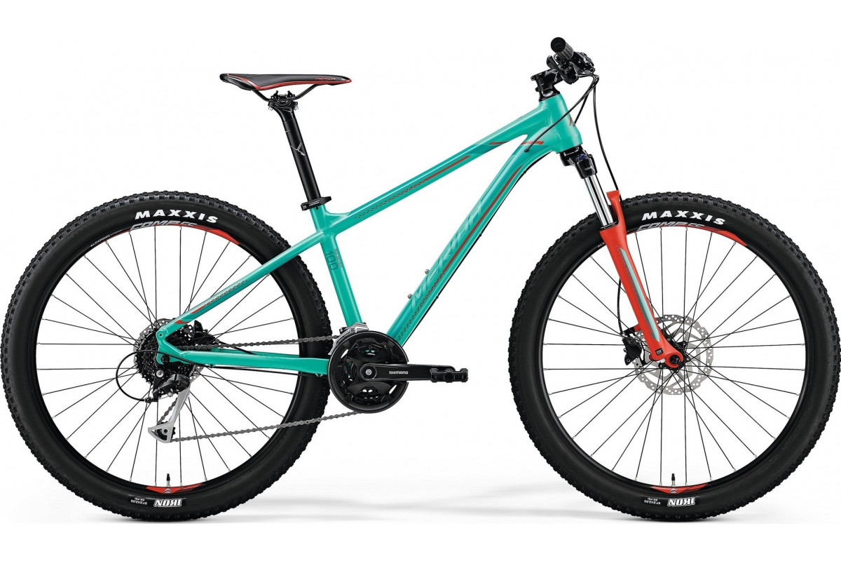 "Велосипед Merida Big Seven 100 Green (Red/Dark Green) 2018 S(15"")(34345)"