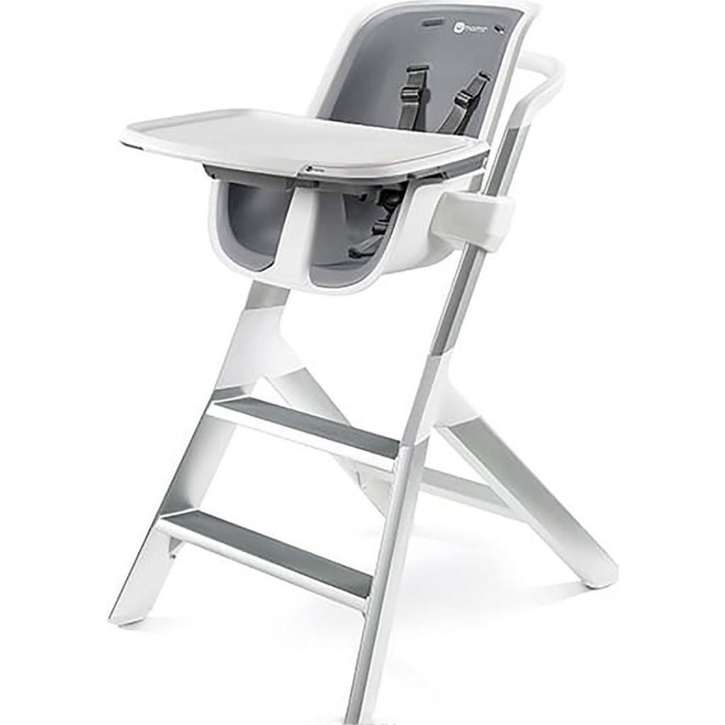 Стульчик для кормления 4Moms High chair белый/серый