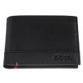 Портмоне Zippo с защитой от сканирования RFID, цвет чёрный, натуральная кожа, 12×2×9 см