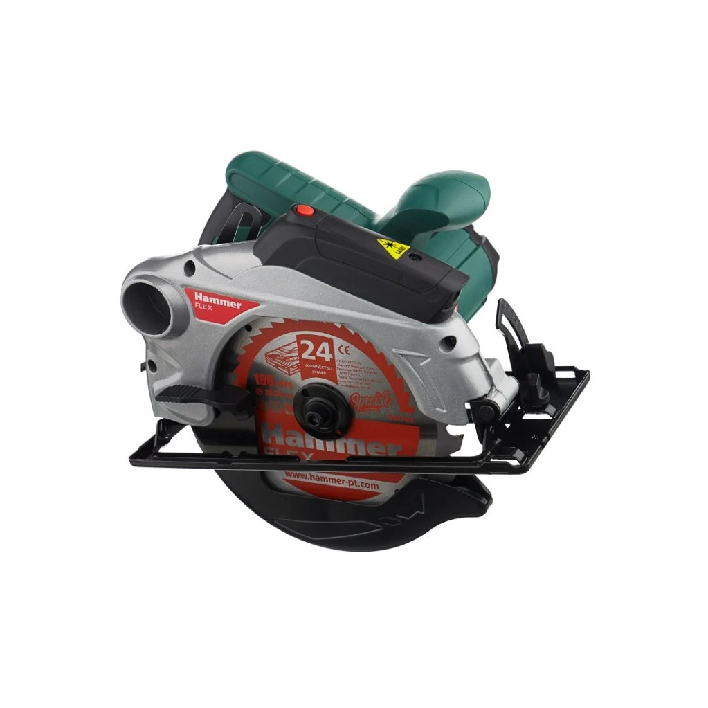 Пила циркулярная Hammer Flex CRP1500D 1500Вт