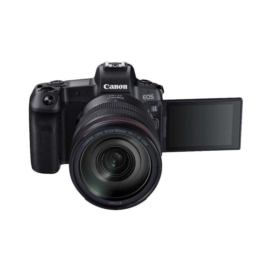 Беззеркальный фотоаппарат Canon EOS R kit RF 24-105mm f/4 с адаптером EF-EOS R