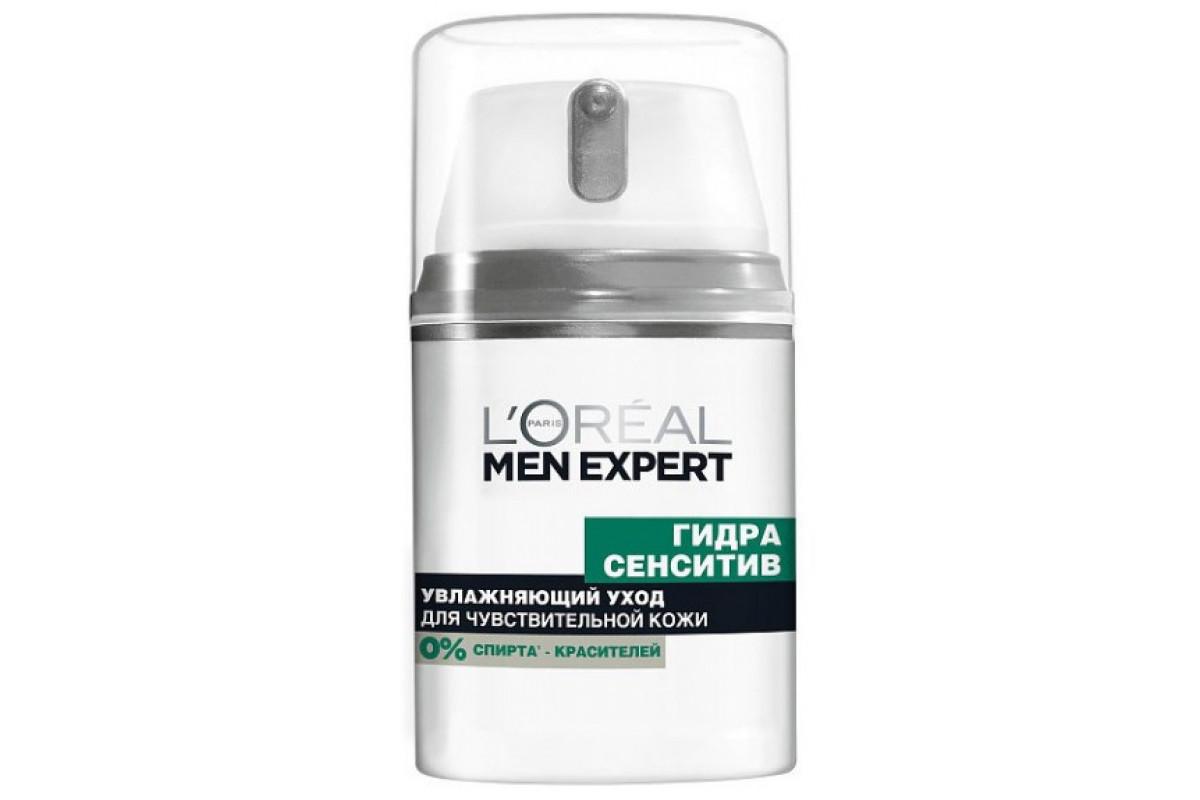 L'Oreal Men Expert Уход для лица увлажняющий Гидра сэнситив с березой 50мл