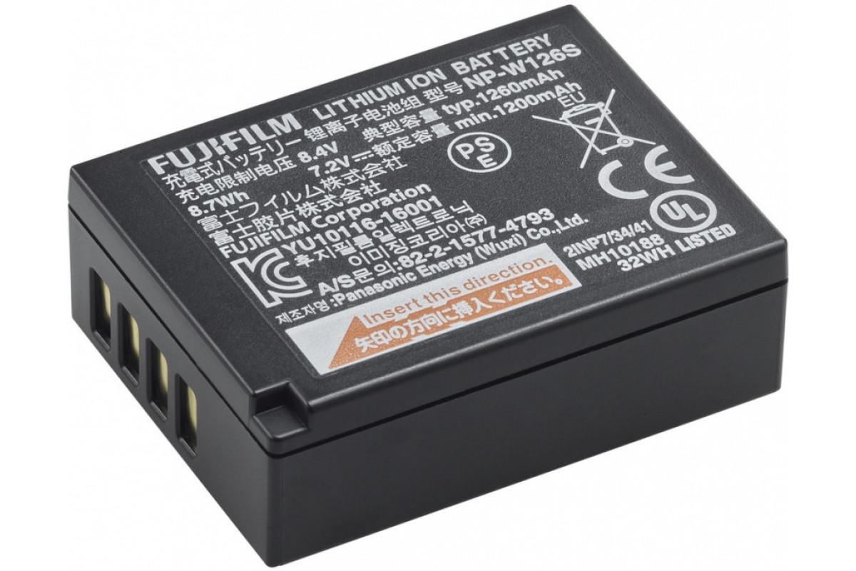 Аккумулятор Fujifilm NP-W126S для Fuji X-T2/X-Pro2/X-E2/X-E1/X-M1/X-A1/X-A2