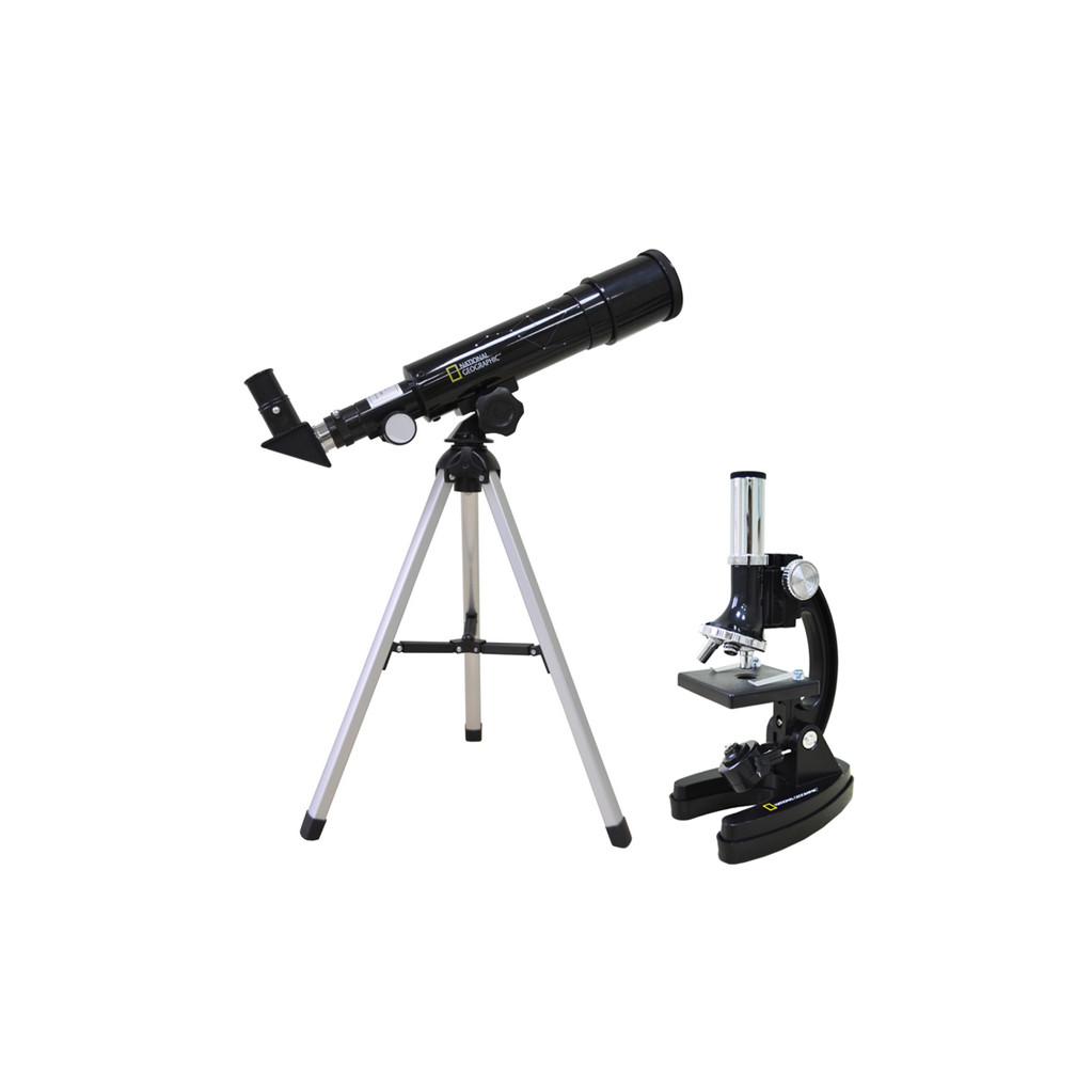 Набор Bresser National Geographic: телескоп 50/360 и микроскоп 300-1200x