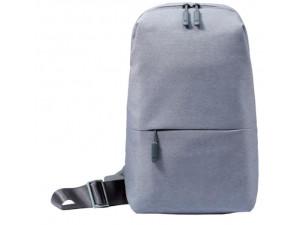 Рюкзак Xiaomi Mi City Sling Bag, светлый серый