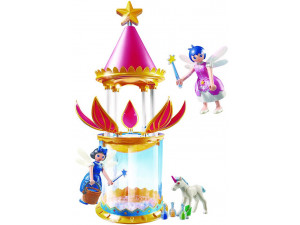 Playmobil Конструктор Супер4: Музыкальная Цветочная Башня с Твинкл