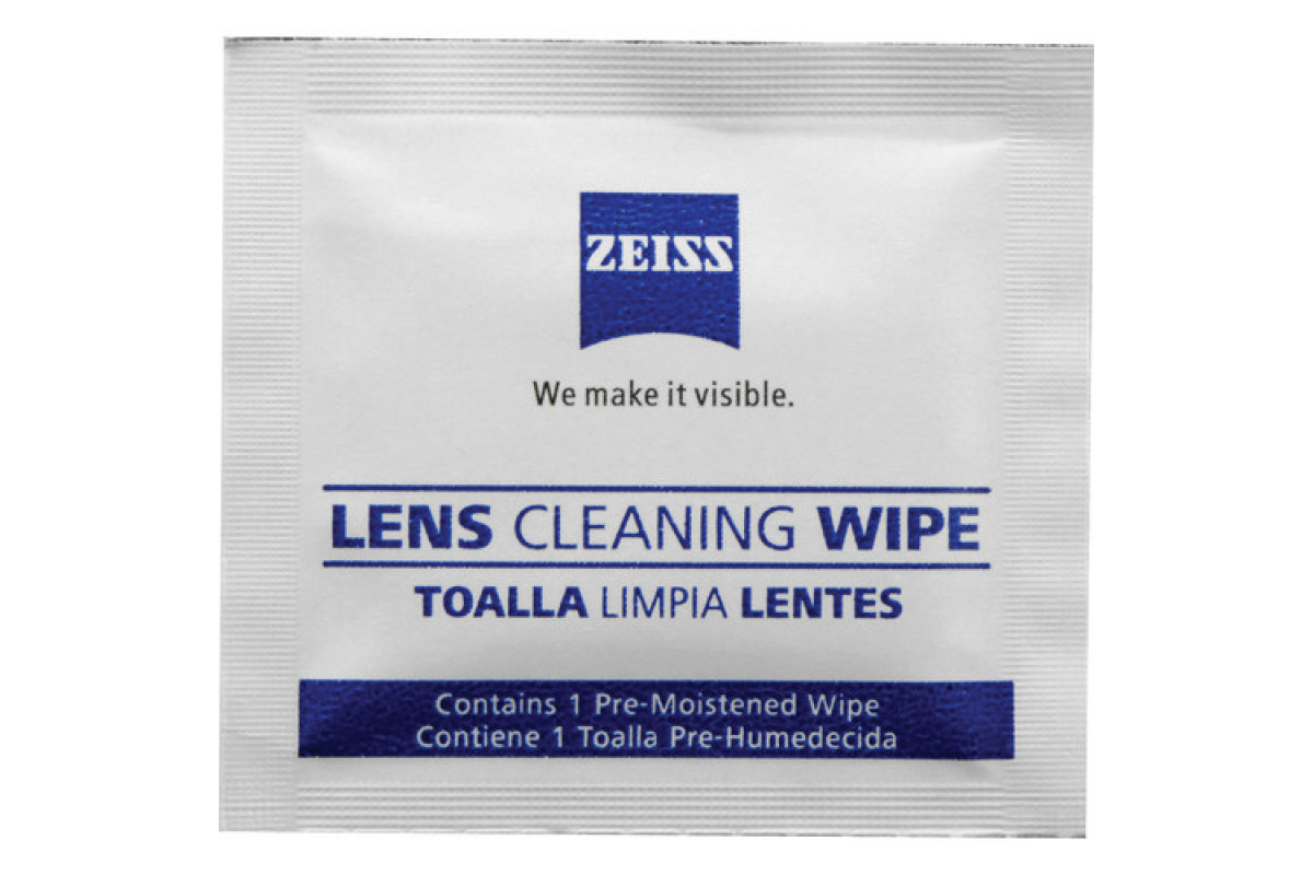 Набор для ухода за оптикой ZEISS lens cleaning wipes