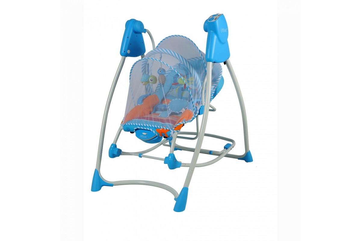 Pituso Lerin TY-805 - электрические качели-шезлонг голубой