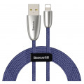 Кабель Baseus Torch USB - Lightning, 2 м, синий