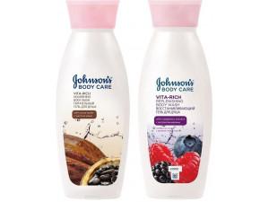 Johnson's Body Набор: Гель для душа Body Care Vita-Rich с экстрактом Лесных ягод Восстанавливающий 250мл+Гель для душа Body Care Vita-Rich с маслом К