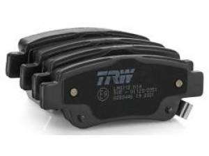 Колодки тормозные задние TRW  GDB3449 для HYUNDAI H-1/Grand Starex 07-