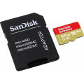 Карта памяти Sandisk Extreme microSDXC 64GB for Action Cams and Drones + SD Adapter 160MB/s A2 C10 V30 UHS-I U3