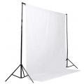 Фон муслиновый Raylab RL-BC01 3*3м белый