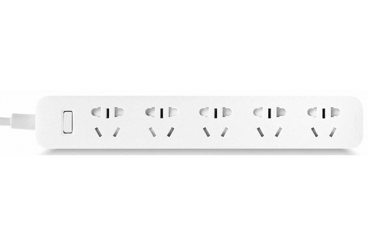 Удлинитель Xiaomi Mi Smart Power Strip 5 розеток, белый