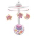 Chicco Волшебные звезды - подвеска-мобиль (розовая) с д/у
