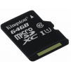 Карта памяти Kingston microSDXC 64GB Class10 UHS-I Canvas Select до 80Mb/s без адаптера