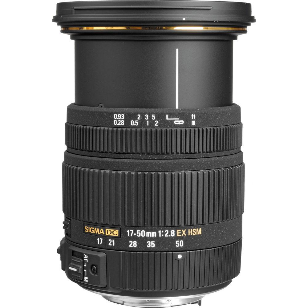 Sigma AF 17-50mm f/2.8 EX DC OS HSM Nikon F (