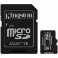 Карта памяти Kingston SDXC Canvas Select Plus Class 10 UHS-I U3 (100/85MB/s) 256GB
