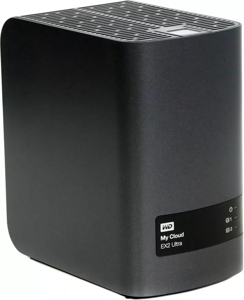 """Сетевой накопитель Western Digital WD My Cloud EX2 Ultra 8.0Tb 3,5"""", WDBSHB0080JCH-EEUE"""