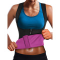Корсет для похудения CleverCare, женский, размер L, черный с розовым