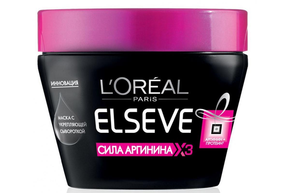 L'Oreal Elseve Маска для волос Сила аргинина 300мл