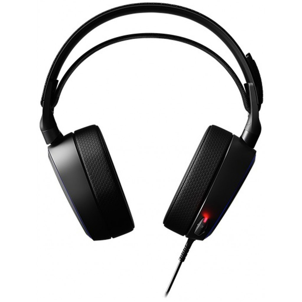 Наушники с микрофоном Steelseries Arctis Pro черные 3м мониторы оголовье (61486)