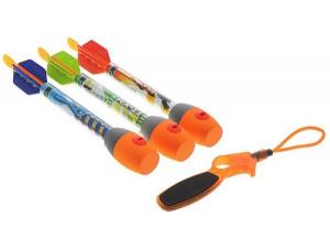 Zing Ракеты свистящие 3 шт с пусковым устройством