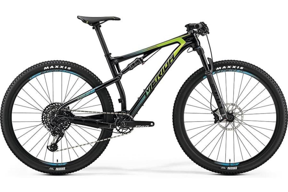 "Велосипед Merida Ninety-Six 9.6000 UDCarbon/Green/Blue 2019 M(18"")(72262)"