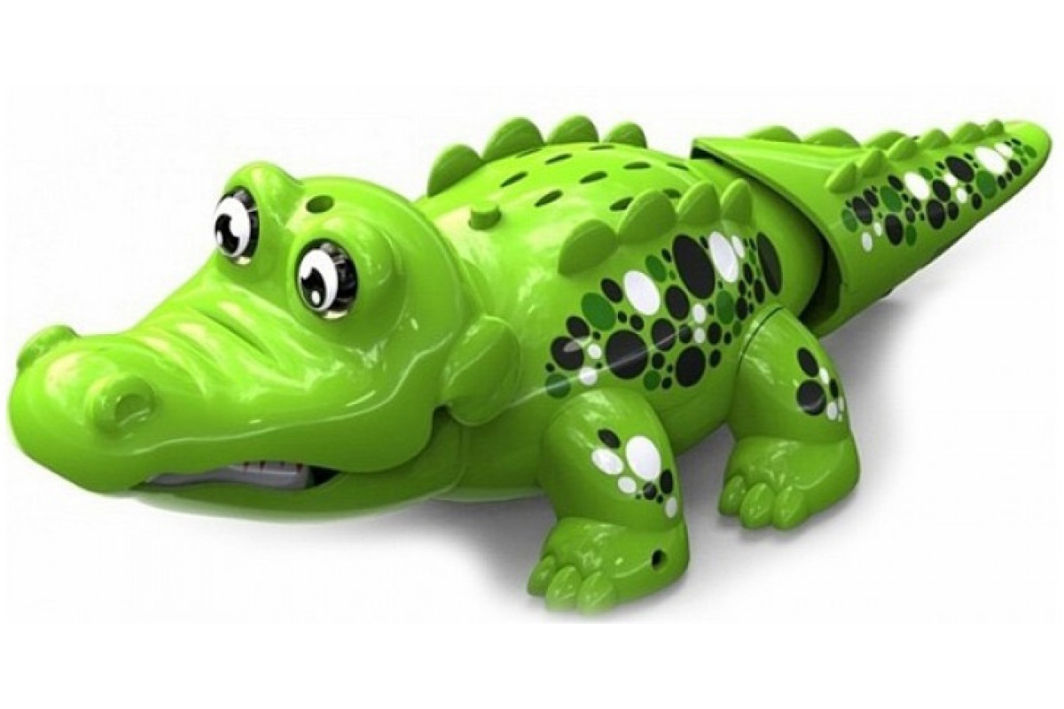 DigiFriends Аква крокодильчик свето-зеленый