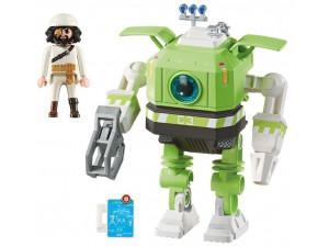Playmobil Конструктор Супер4: Робот Клеано